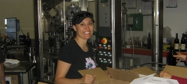 cynthia-kummer-hard-at-work-on-the-bottling-line
