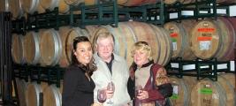 cooper-james-wine-friends-jim-ginger-cynthia-barrel-taste